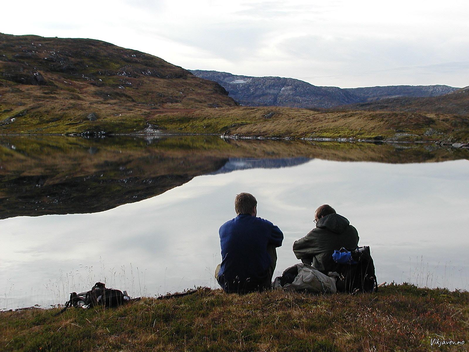 Kaffirast ved Lars-Ola-vatnet