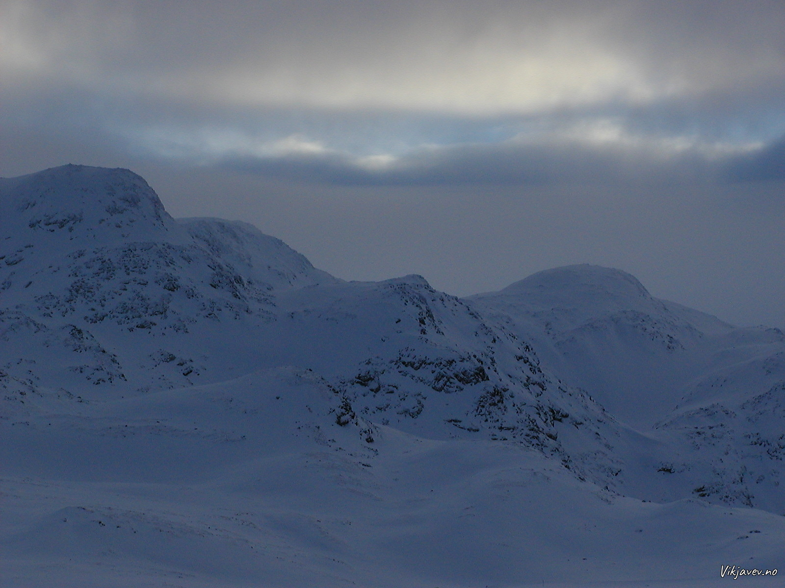 Tirshaug og Fossfjellet