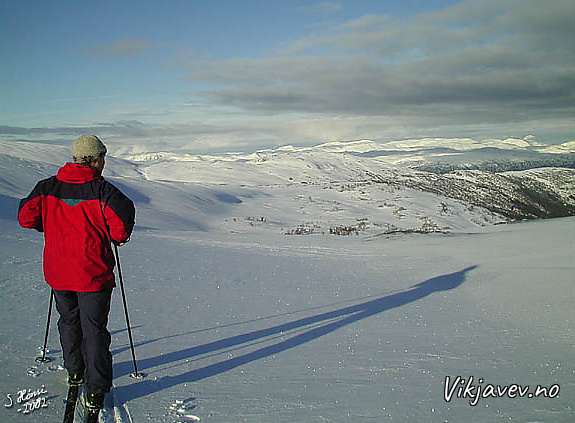 Toppen av Dalbotnbakken