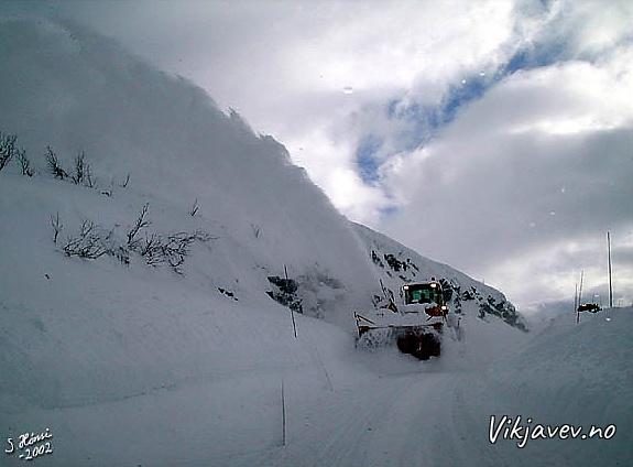 Snøfresar i Lii