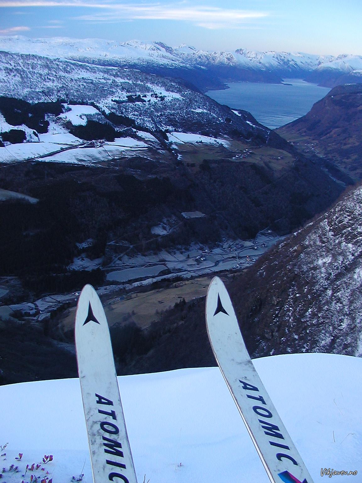 Utsikt frå Haukabergfjellet