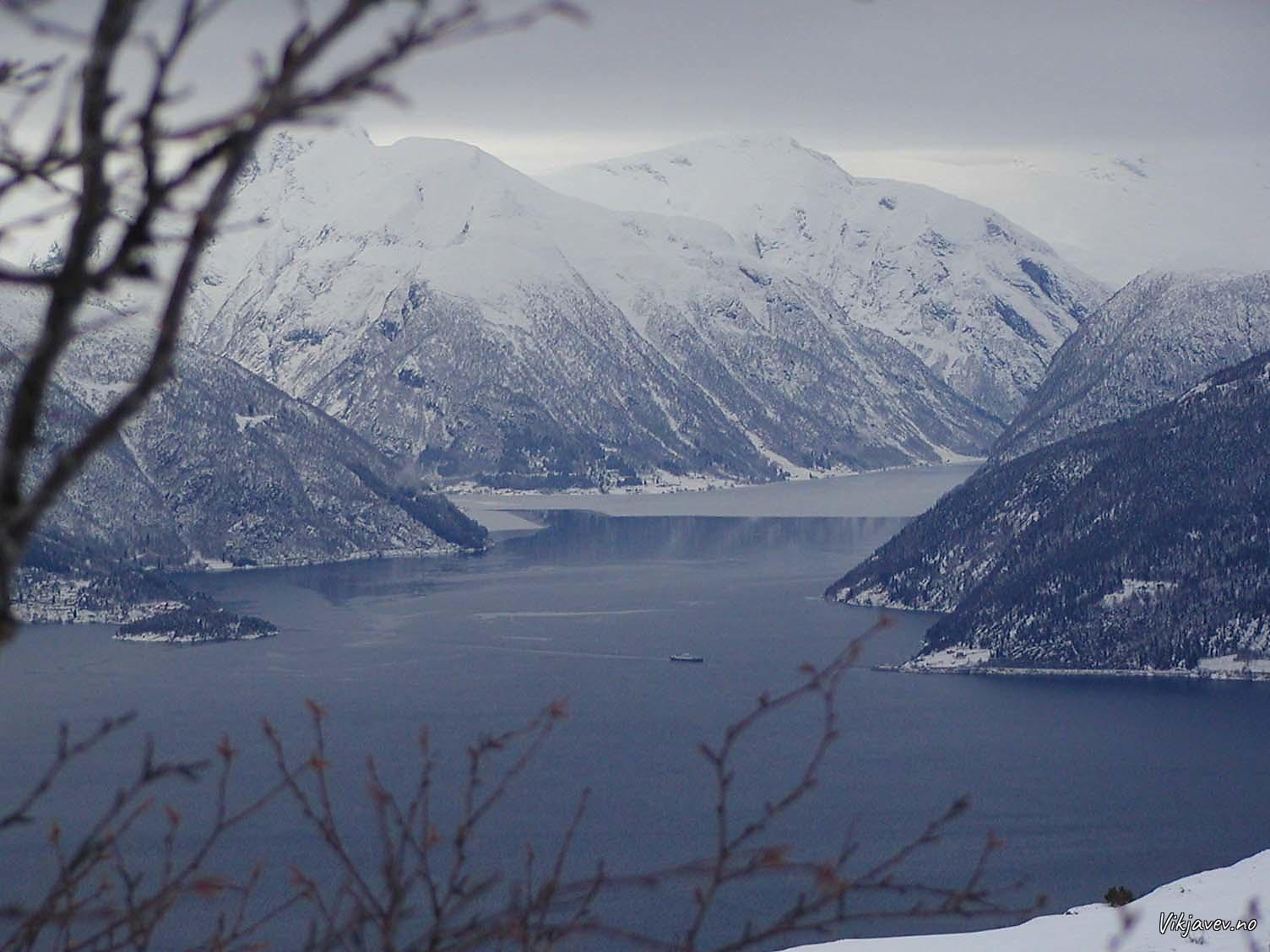 Is på fjorden