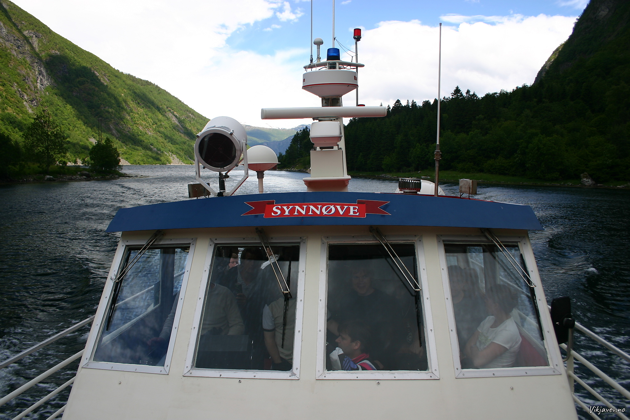 Båttur med Synnøve