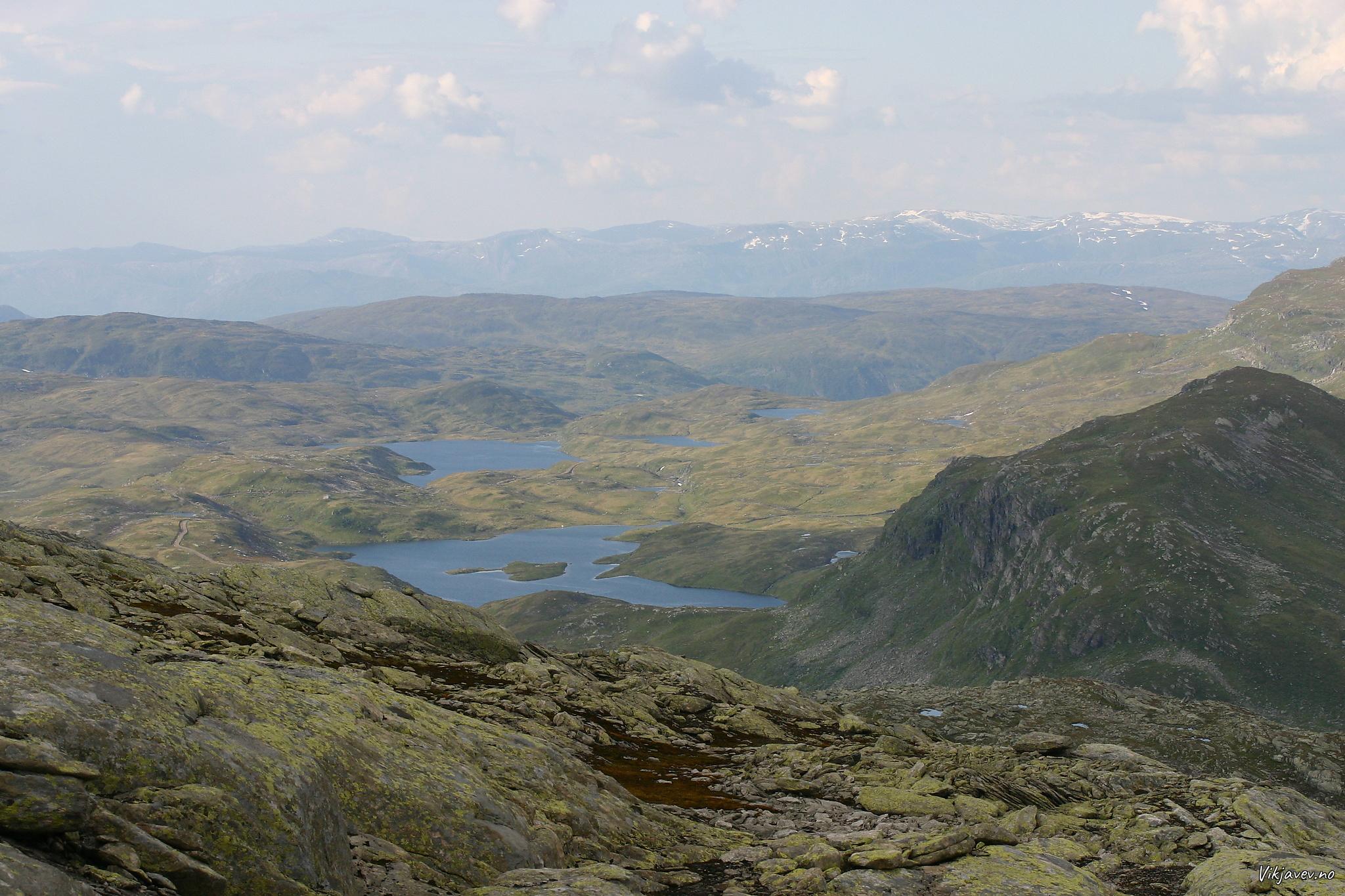 Mot nord frå Bjørndalskamben