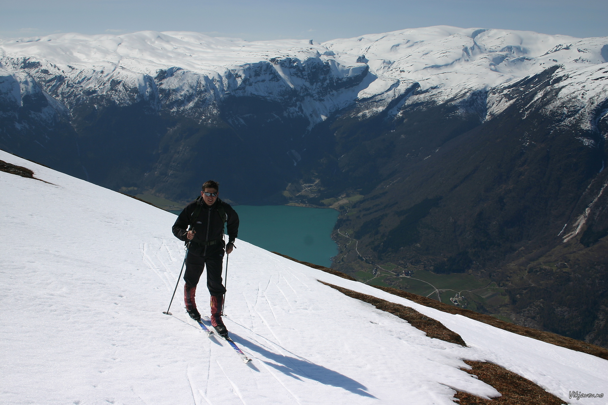 På ski på Krokeggi