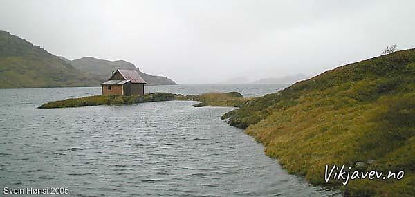 Hytte ved Kvilesteinsvatnet