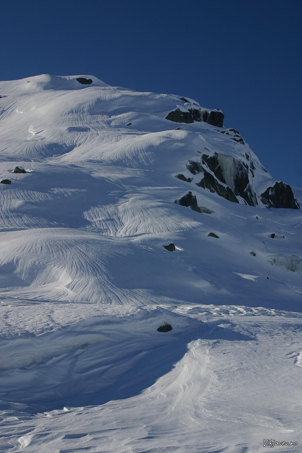 Mønster i snøen