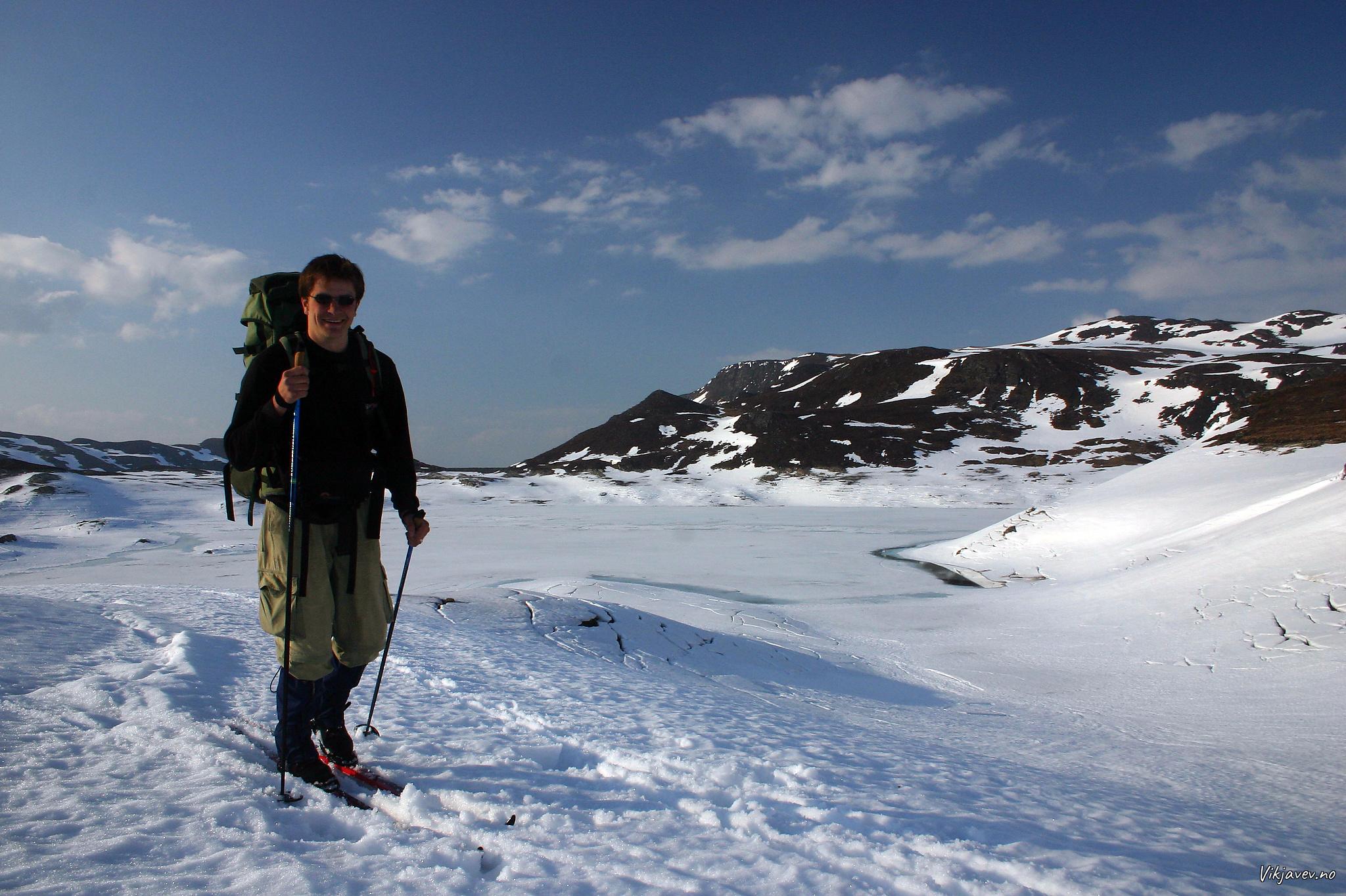 På ski i Muravatnet