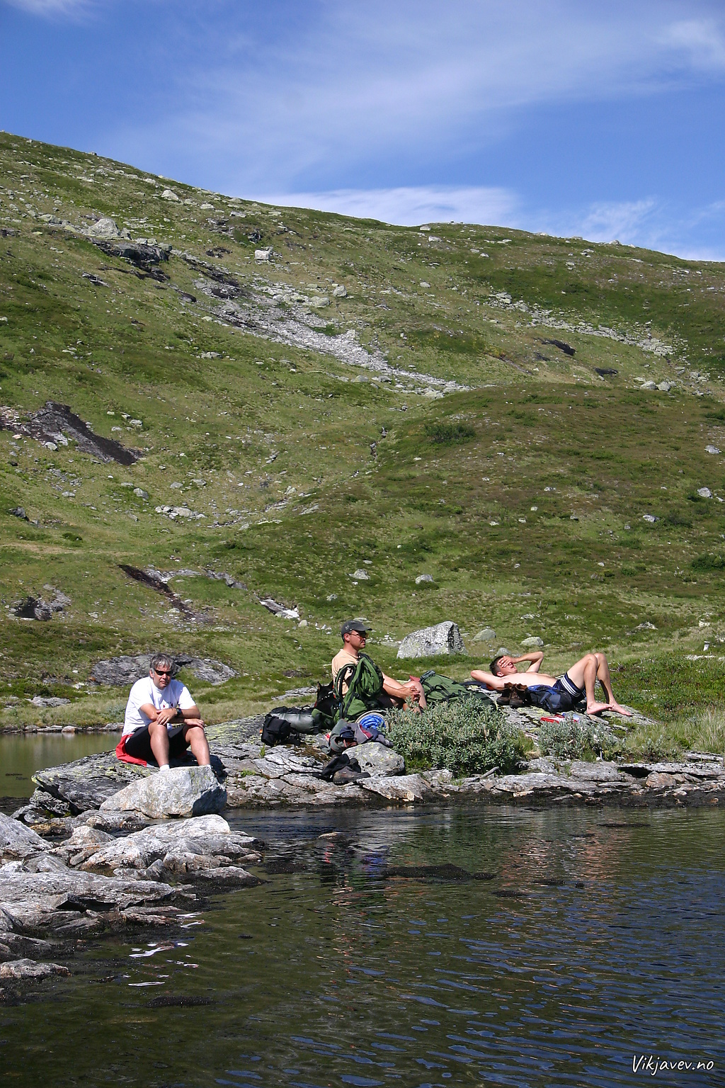 Pause ved Dagvatnet