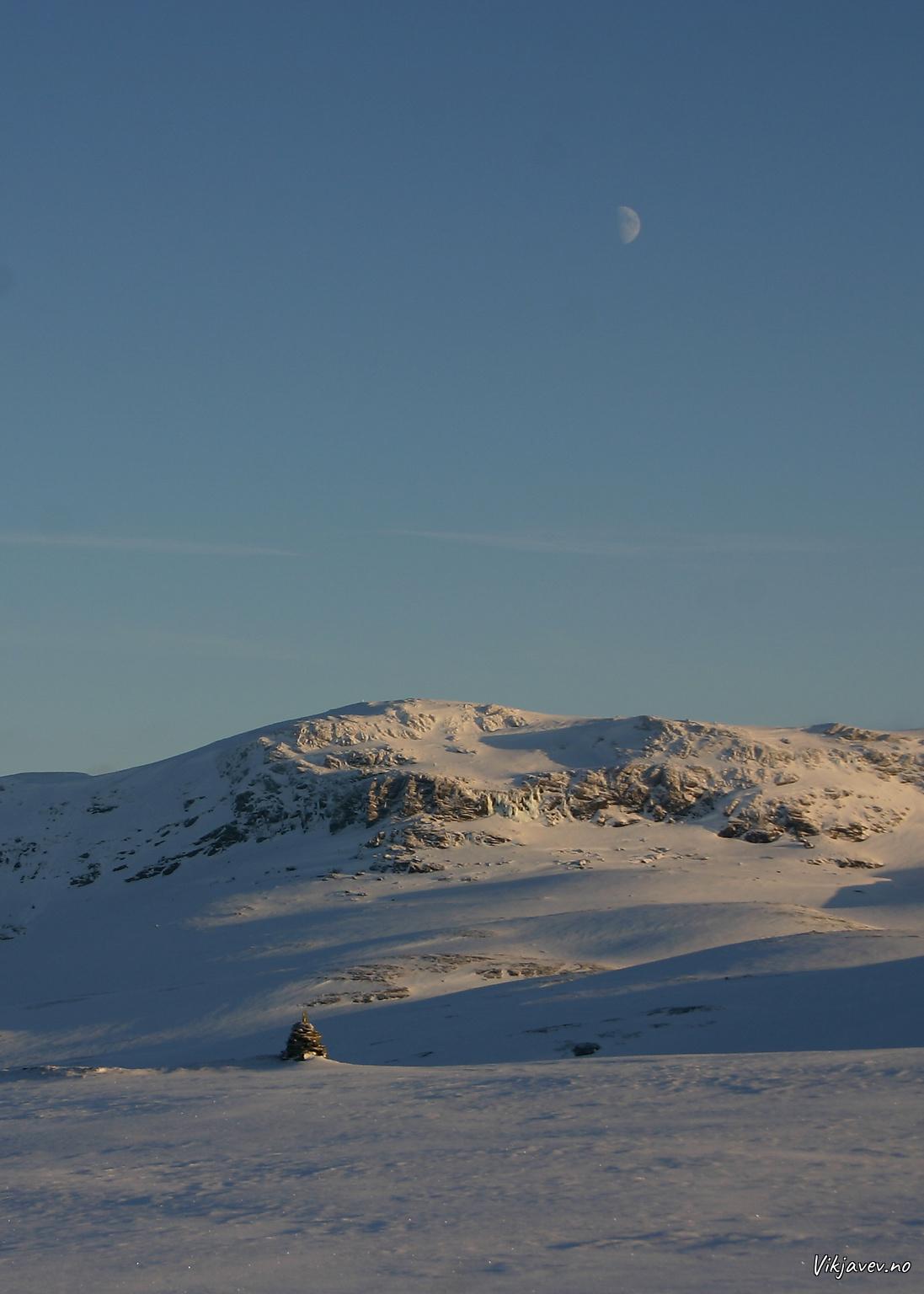 Frå Ygnesdalsfjellet mot Fossfjellet