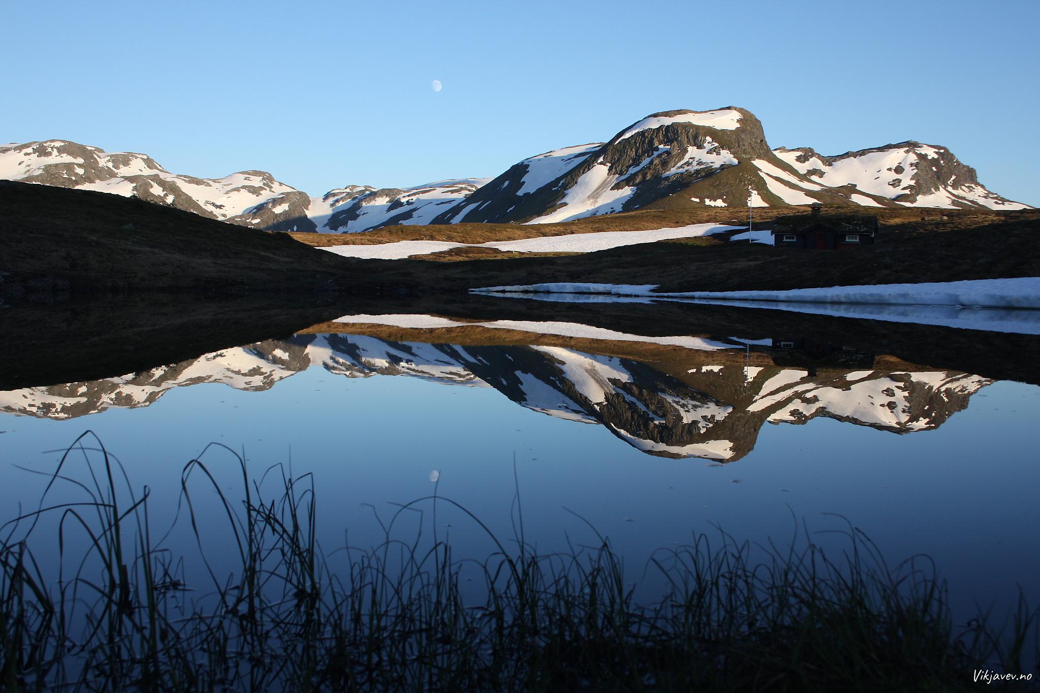 Kveldssol over Fossfjellet