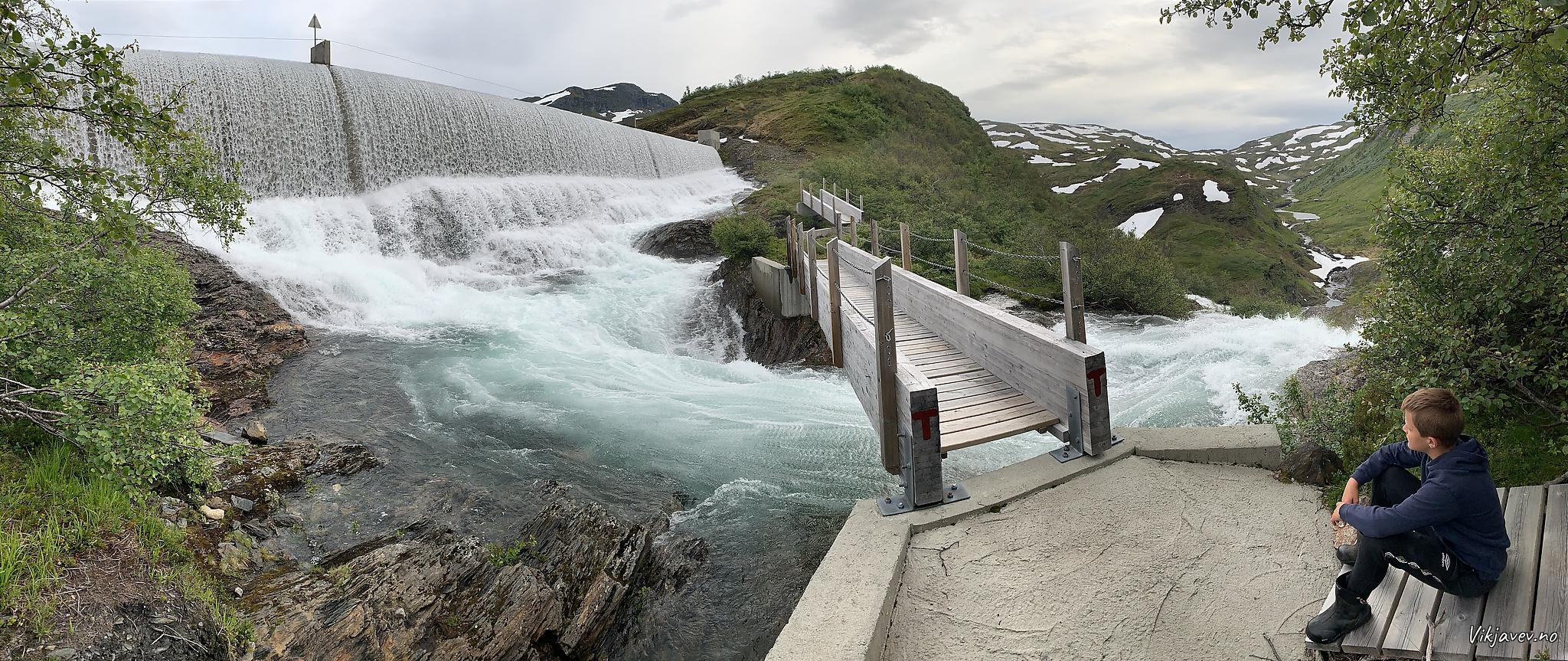 Overløpet frå Målsetvatnet