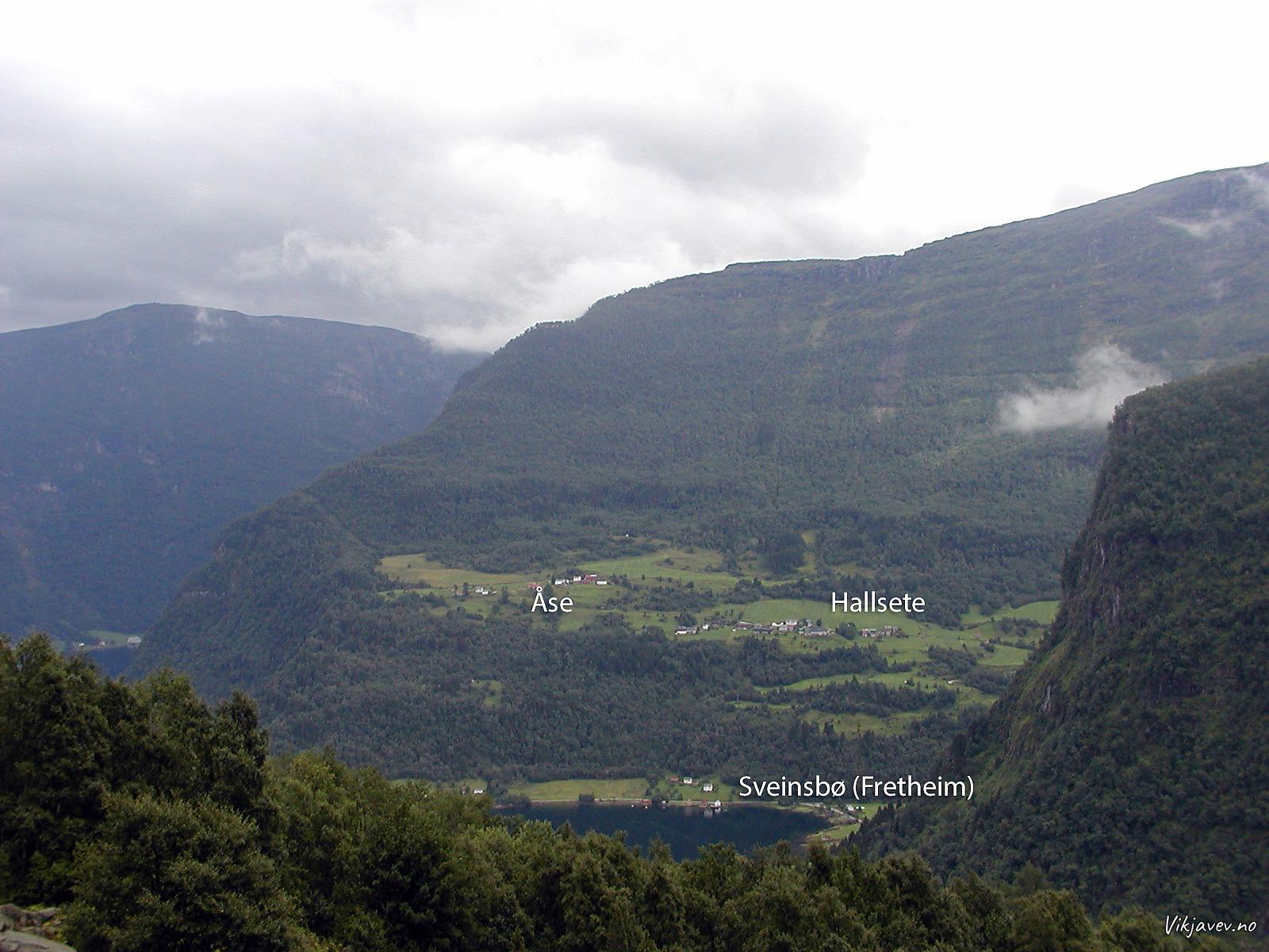 Oppigardane i Indrefjorden