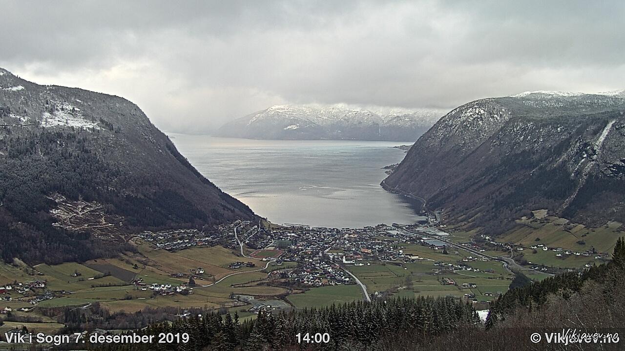 Vik i Sogn December 7, 2019 14:0