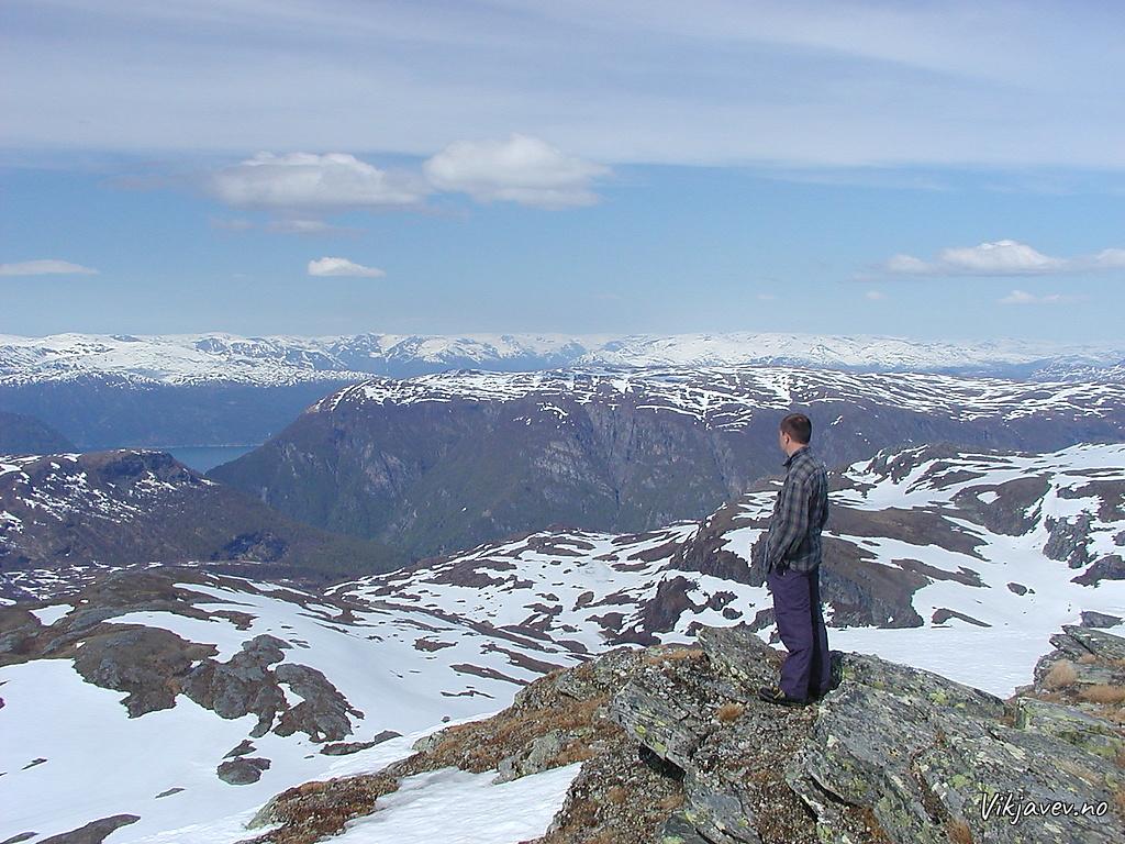 Utsikt frå Skjelinganosi