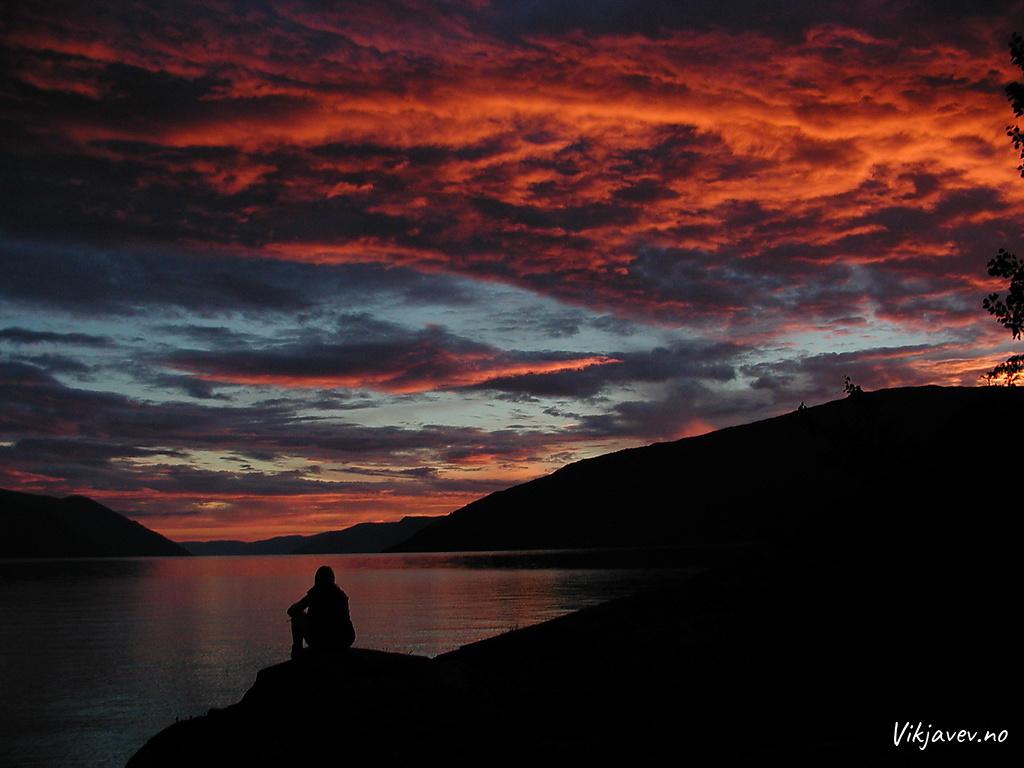 Kveldsstemning i Svolsviki