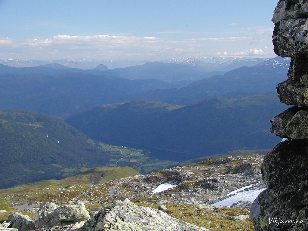 Utsikt mot Myrkdalen