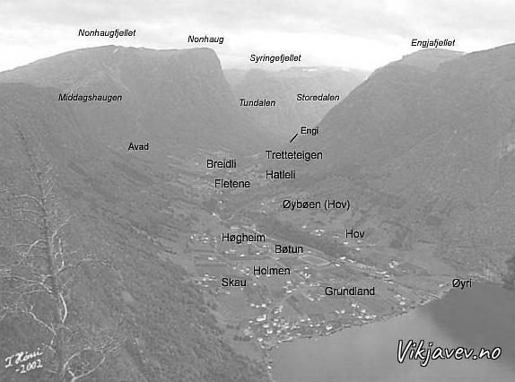 Stadnamn i Fresvik