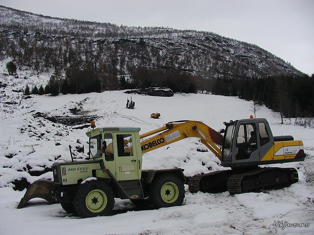 Nytt skianlegg i Kålsetlii