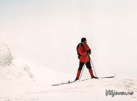 Noralv på ski