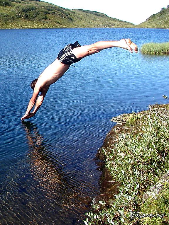 Stup i Fiskedalsvatnet