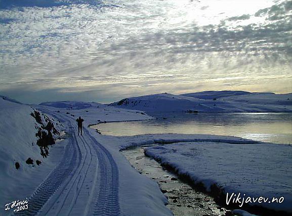 På ski i Grungavegen