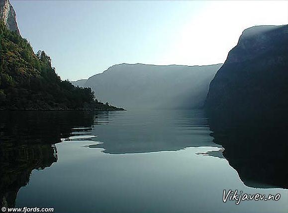 Frå Nærøyfjorden