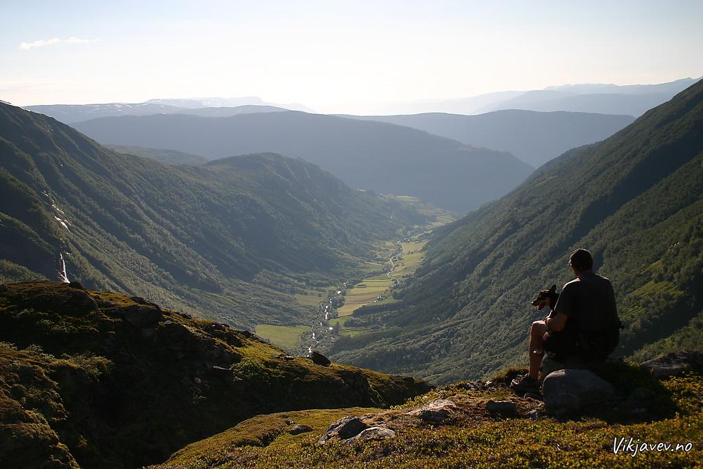 Utsikt over Seljadalen