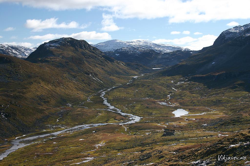 Utsikt over Kvanndalen