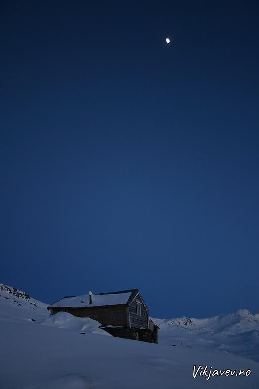 Måneskin i Ovrisfjellet