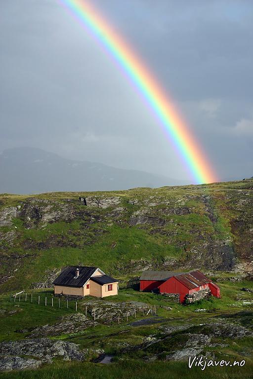 Regnboge over Skjelingen