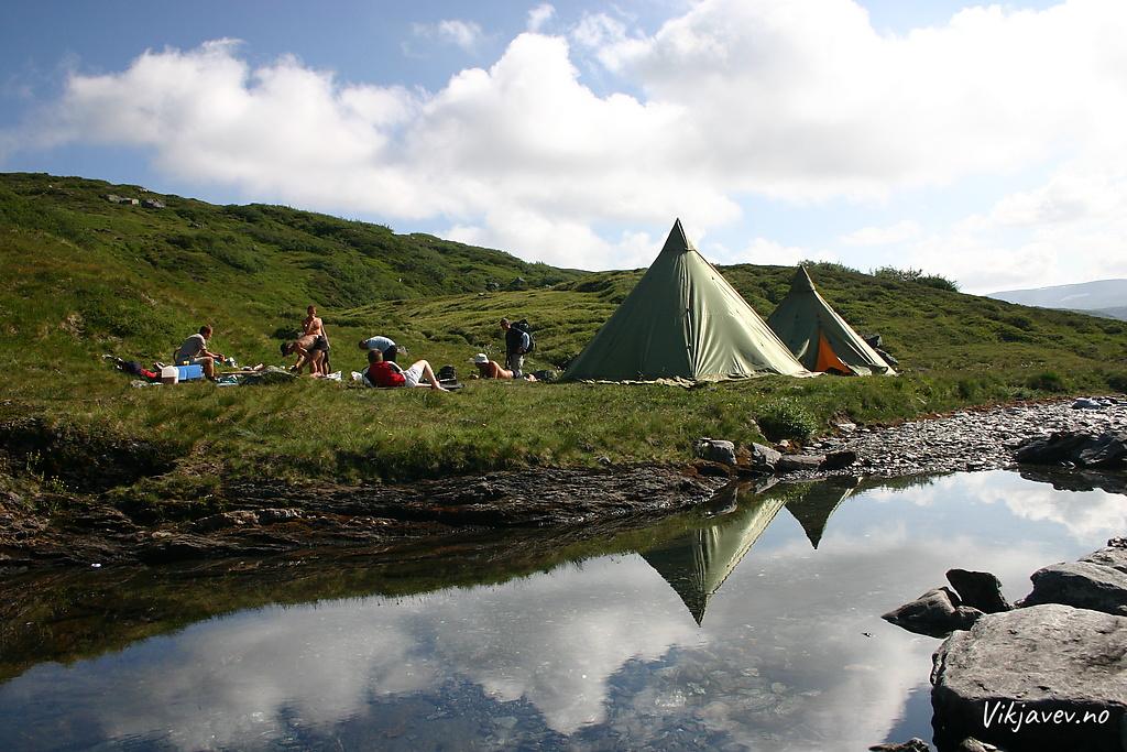 Lavvoar ved Vassøyane