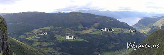 Øvregardane på Ovrisdalen