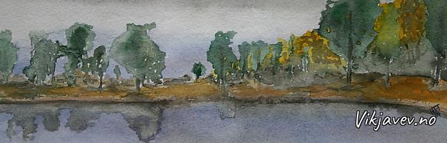 Akvarellar av Helge Tenol-Tuxen